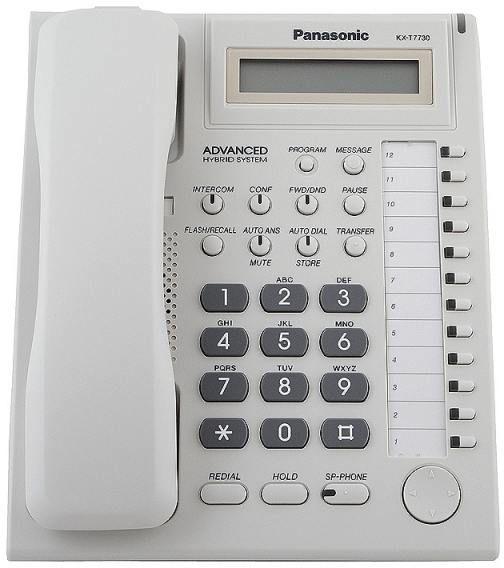 Bàn lập trình KX-T7730 thích hợp với các dòng tổng đài Panasonic vctel