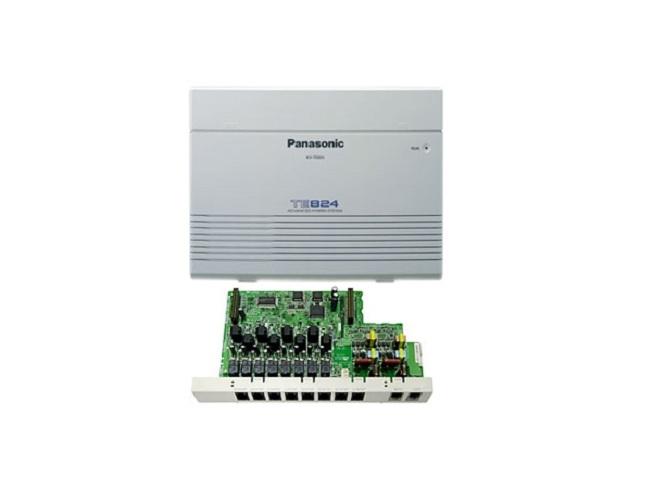 Lắp đặt tổng đài điện thoại cho công ty Panasonic KX-TES824 vctel