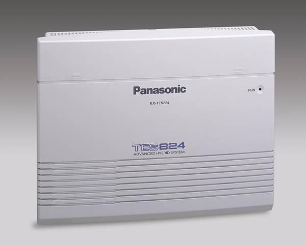 Tổng đài Panasonic KX-TES824 có 6 trung kế và 24 máy nhánh vctel