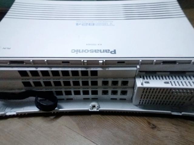 6 cổng vào bưu điện và 24 máy lẻ của Tổng đài Panasonic KX-TES824 vctel