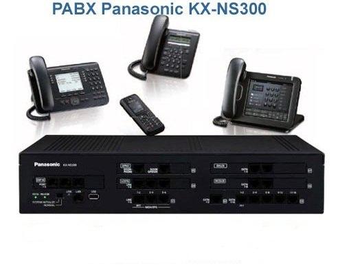 Tổng đài Panasonic KX-NS300 có thể kết nối với 48 máy phụ vtel