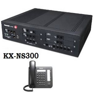 Tổng đài Panasonic KX-NS300 6 trung kế, 48 máy nhánh vctel