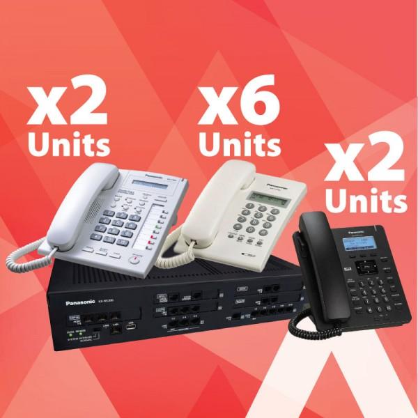 Tổng đài Panasonic KX-NS300 là câu trả lời cho Tổng đài Panasonic nào tốt nhất vctel