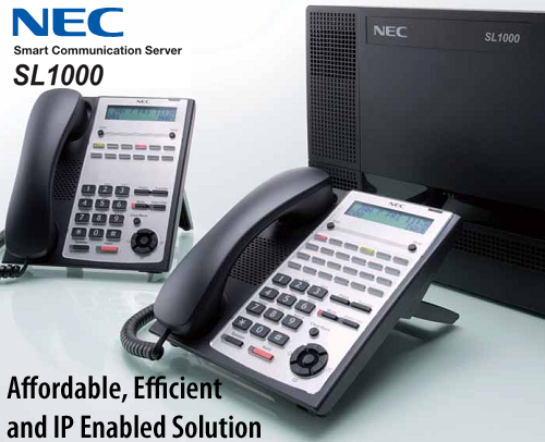 Tổng đài NEC SL1000-44-112 - giải pháp tổng đài điện thoại IP hữu hiệu vctel