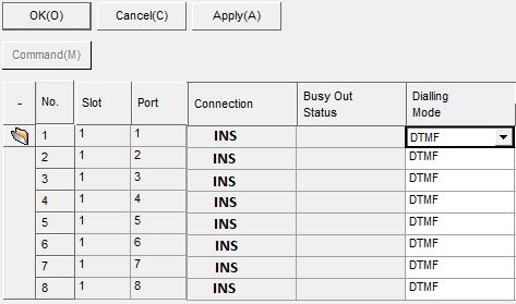 Khai báo trung kế cài đặt Panasonic KX-TDA vctel