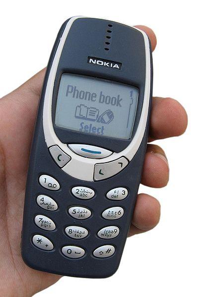 Điện thoại Nokia cổ 3310 phiên bản năm 2000 vctel