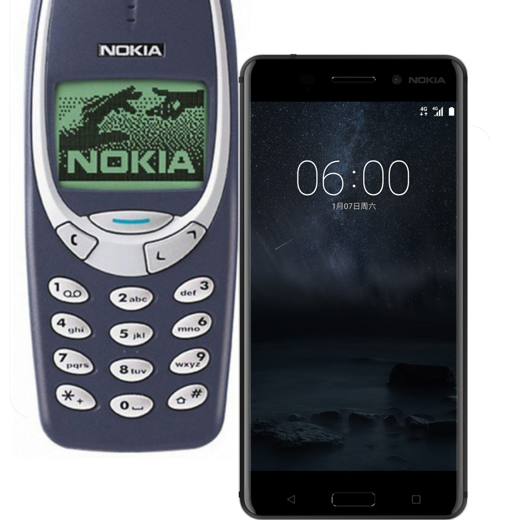 Đo thử độ bền của Nokia 3310 và Nokia 6 vctel