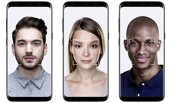Bảo mật nhận diện khuôn mặt và mống mắt của Samsung Galaxy S8 Plus và S8 vctel