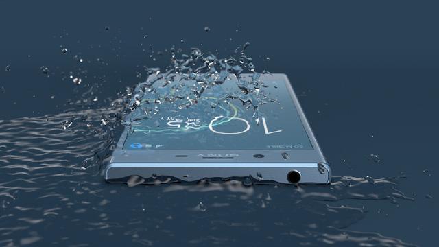 Khả năng chống bụi chống nước đạt tiêu chuẩn IP68 của Sony Xperia XZs vctel