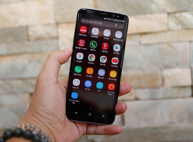 Samsung Galaxy S8 giá 17 triệu đồng