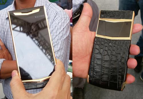 Viettel Luxury Phone có giá bán dự kiến 23 triệu đồng vctel