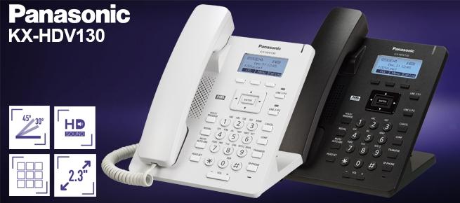 Điện thoại IP Panasonic KX-HDV130 vctel