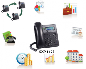 Điện thoại IP Grandstream GXP1625 vctel