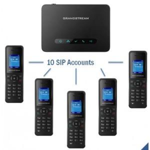 Điện thoại không dây Grandstream DP750