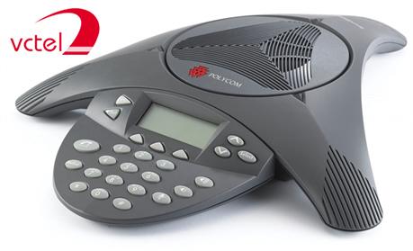 Hướng dẫn sử dụng điện thoại hội nghị Polycom SoundStation 2 với những thao tác cơ bản vctel