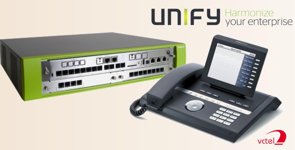 Tổng đài Unify giá rẻ - tổng đài Siemens vctel