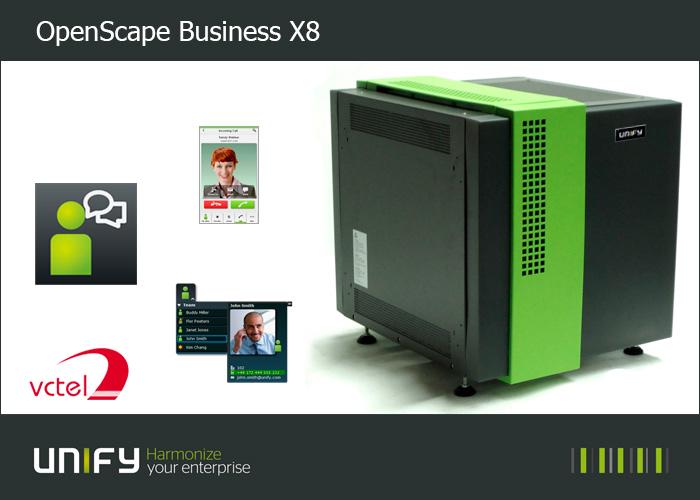 Tổng đài Unify OpenScape Business X8 cho doanh nghiệp quy mô lớn vctel