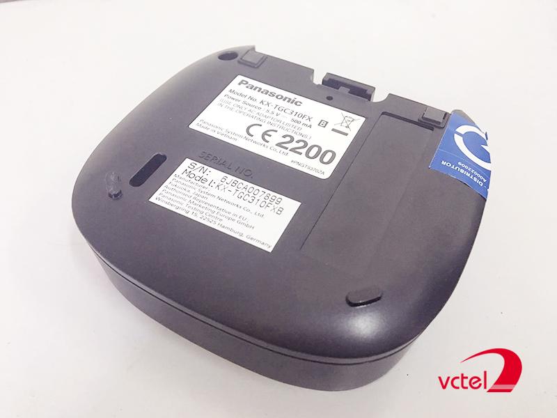 Điện thoại kéo dài giá rẻ Panasonic KX-TGC310 vctel