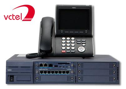 Lắp đặt tổng đài NEC SV8100 chính hãng mở rộng 8 trung kế 16 thuê bao digital, 16 thuê bao thường vctel