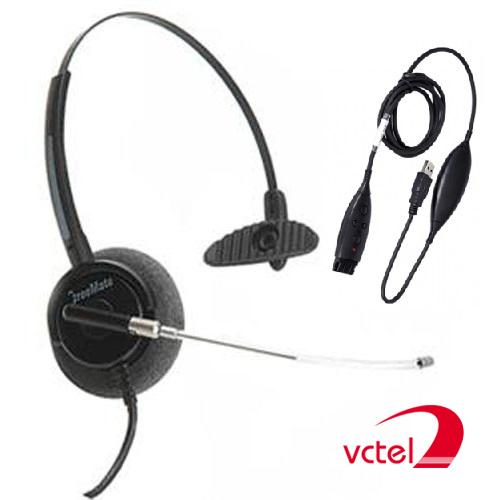 Tai nghe tổng đài Freemate HD-021TP chính hãng Hàn Quốc vctel
