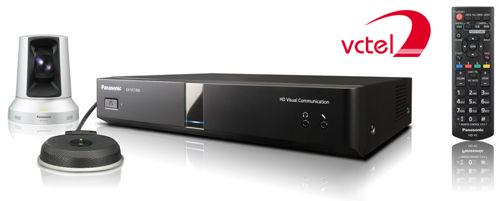 Thiết bị hội nghị truyền hình Panasonic KX-VC1300 vctel