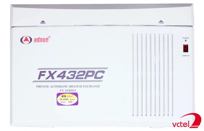 Tổng đài Adsun FX432PC chính hãng của Việt Nam vctel
