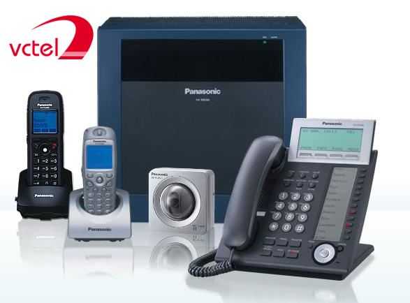 Tổng đài điện thoại Panasonic KX-TDE600 bảo hành 15 tháng vctel