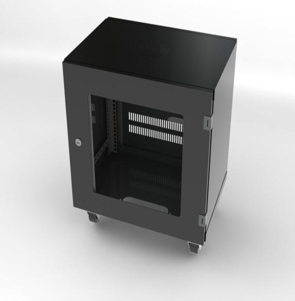 Tủ Rack 10U D400 sản xuất tại Việt Nam chất lượng cao, bảo hành 12 tháng vctel