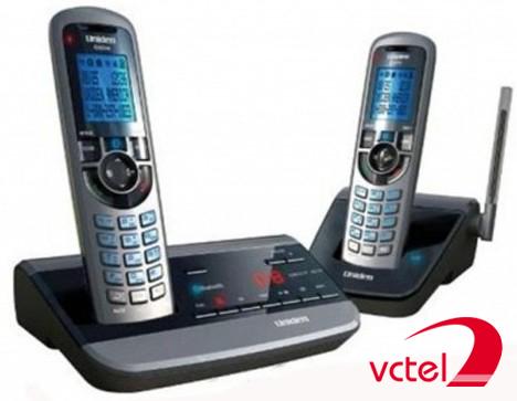 Điện thoại bàn không dây Uniden AS1052-2R chính hãng vctel