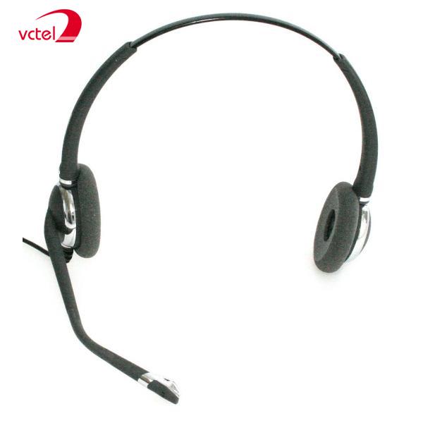 Tai nghe chụp tai FreeMate DH-031TFNB chuyên nghiệp cho Call Center vctel