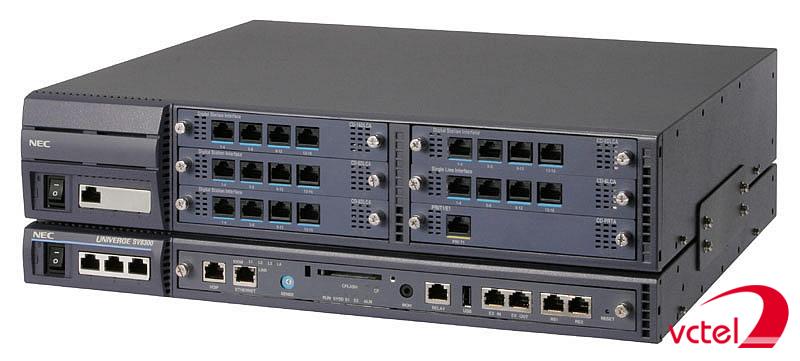 Tổng đài NEC SV8100 cấu hình 8-8-8 chính hãng giá rẻ vctel