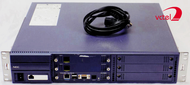 Tổng đài nội bộ NEC Univerge SV8100-24-8-144 dùng cho các dự án lớn vctel