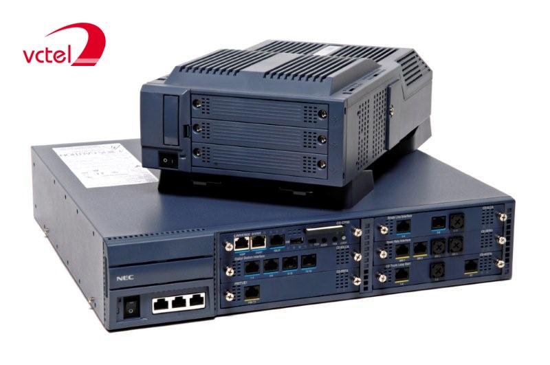 Tổng đài NEC Univerge SV8100-24-8-144 chính hãng vcte