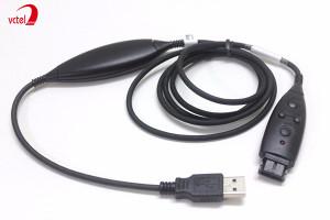 Dây kết nối tai nghe cổng USB với PC model DSU-11M vctel