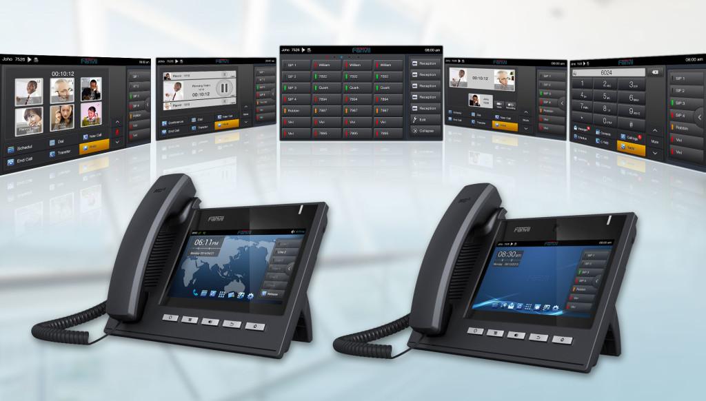 Điện thoại bàn chạy hệ điều hành Android chính hãng Fanvil model C600 tích hợp nhiều tiện ích vctel
