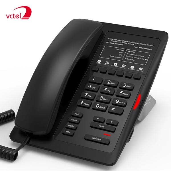Điện thoại bàn cho khách sạn Fanvil H3 chuyên nghiệp bảo hành 12 tháng vctel