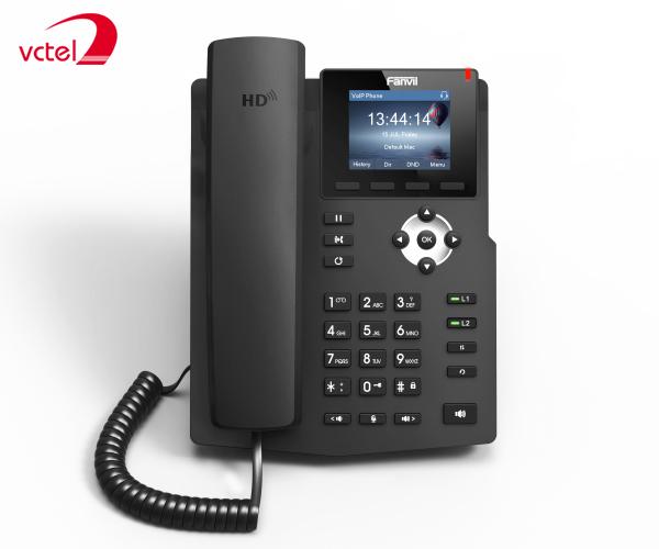 Điện thoại bàn IP Fanvil X3S chính hãng vctel