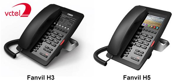 Điện thoại IP cho khách sạn Fanvil H5 chính hãng mới vctel