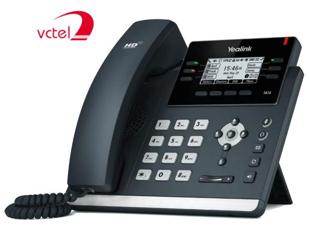 Điện thoại IP giá rẻ Yealink SIP-T41S - hỗ trợ lên đến 6 tài khoản SIP vctel