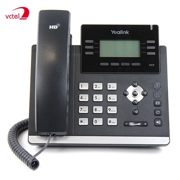 Điện thoại cố định giá rẻ nhất Yealink T40P chính hãng bảo hành 02 năm hỗ trợ Skype vctel