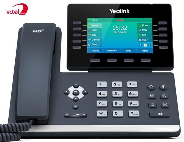 Điện thoại IP Yealink SIP-T54S tích hợp màn hình LCD cảm ứng bảo hành 24 tháng vctel