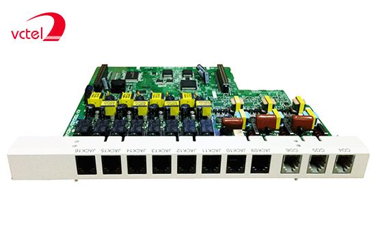 Lắp tổng đài điện thoại giá rẻ chính hãng Panasonic KX-TES824 cấu hình 08 trung kế 24 máy nhánh vctel