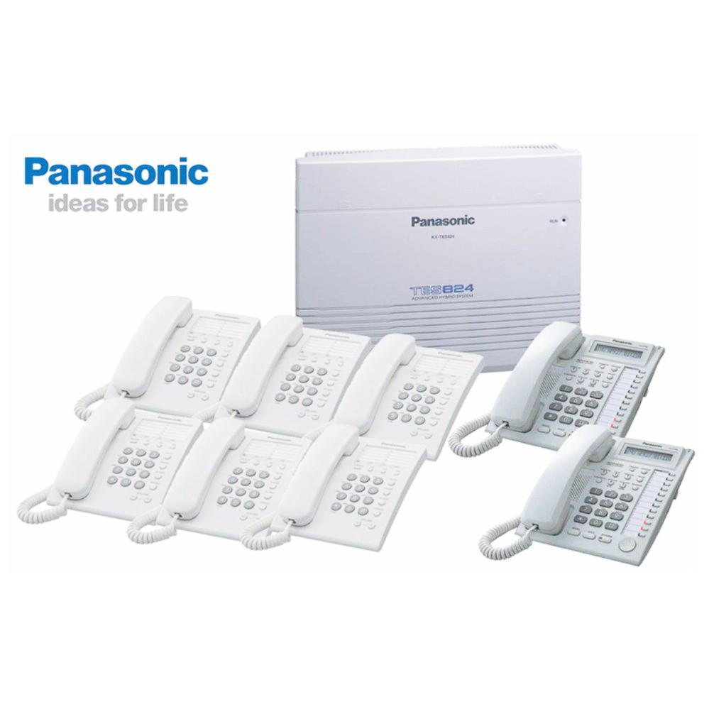 Tổng đài điện thoại Panasonic KX-TES824 - 06 - 24 chính hãng vctel