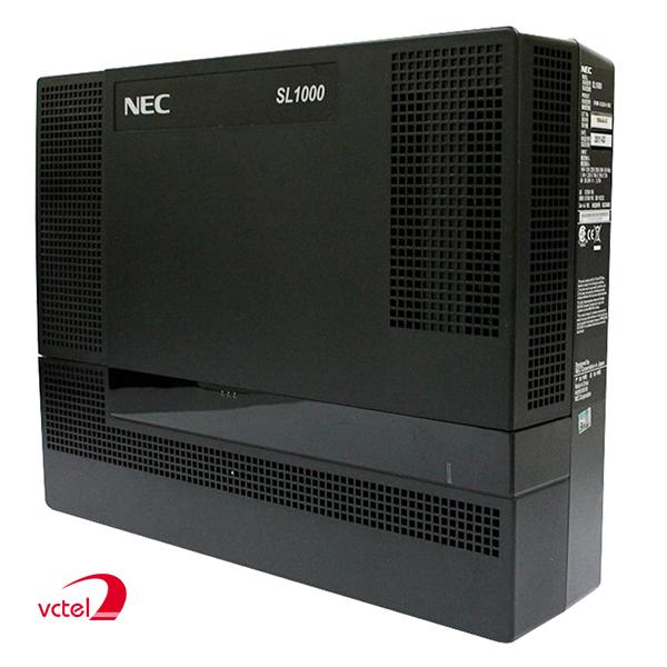 Tổng đài NEC SL1000 cấu hình mặc định 04 đầu vào bưu điện, 08 máy nhánh vctel