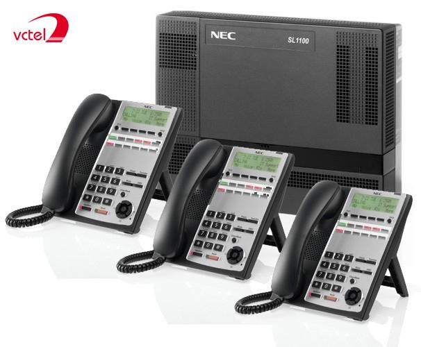 Tổng đài NEC SL1000 cấu hình 04 trung kế 08 máy lẻ chỉ từ 5.305.000đ vctel