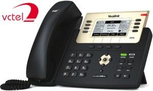 Điện thoại để bàn Yealink SIP-T27G bảo hành chính hãng 24 tháng vctel