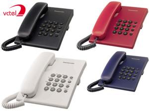 Điện thoại Panasonic KX-TS500 nhiều màu sắc giá rẻ nhất thị trường vctel
