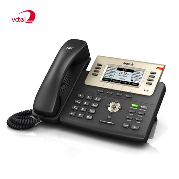 Giá điện thoại bàn Yealink SIP-27P tốt nhất thị trường do VCTEL cung cấp vctel