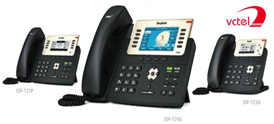 Giá điện thoại bàn Yealink SIP-27P tốt nhất thị trường vctel