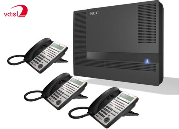 Lắp đặt tổng đài điện thoại ở Bắc Cạn - Tổng đài NEC SL1000 vctel